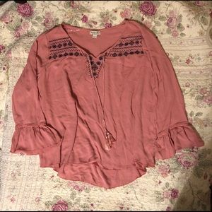 Beautiful One World blouse never worn